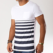 /achat-t-shirts-poche/lbo-tee-shirt-poche-raye-484-blanc-bleu-marine-148679.html