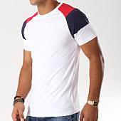 /achat-t-shirts/lbo-tee-shirt-raglan-tricolore-490-blanc-148682.html