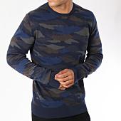 /achat-pulls/petrol-industries-pull-252-bleu-marine-camouflage-148612.html