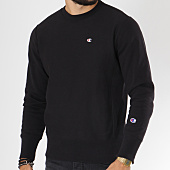 /achat-sweats-col-rond-crewneck/champion-sweat-crewneck-212572-noir-148931.html
