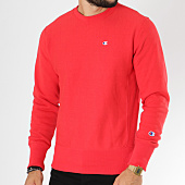 /achat-sweats-col-rond-crewneck/champion-sweat-crewneck-212572-rouge-148933.html
