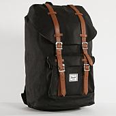 /achat-sacs-sacoches/herschel-sac-a-dos-little-america-10014-noir-marron-149031.html