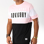 /achat-t-shirts/parental-advisory-tee-shirt-block-tricolore-noir-rose-148957.html