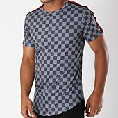 /achat-t-shirts-longs-oversize/uniplay-tee-shirt-oversize-avec-bandes-up-t380-gris-noir-149121.html