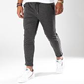 /achat-pantalons-carreaux/frilivin-pantalon-avec-bandes-1377-gris-anthracite-149314.html