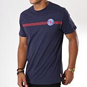 /achat-t-shirts/psg-tee-shirt-logo-stripes-bleu-marine-149566.html