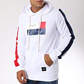 /achat-sweats-capuche/sixth-june-sweat-capuche-avec-bandes-m3570vsw-blanc-149518.html