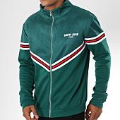 /achat-vestes/sixth-june-veste-zippee-suedine-avec-bandes-m3555cja-vert-149533.html
