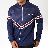 /achat-vestes/sixth-june-veste-zippee-suedine-avec-bandes-m3555cja-bleu-marine-149535.html