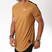 /achat-t-shirts-longs-oversize/sixth-june-tee-shirt-oversize-suedine-avec-bandes-m3564vts-camel-149606.html