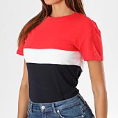 /achat-t-shirts/sixth-june-parisiennes-tee-shirt-femme-w3586cts-bleu-marine-blanc-rouge-149728.html
