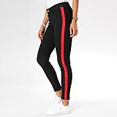 /achat-jeans/sixth-june-jean-femme-skinny-avec-bande-w3546hde-noir-rouge-149766.html