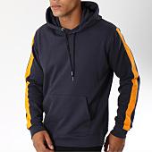 /achat-sweats-capuche/brave-soul-sweat-capuche-avec-bandes-majestic-bleu-marine-149914.html