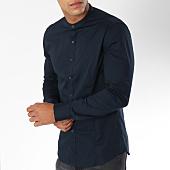 /achat-chemises-manches-longues/mtx-chemise-manches-longues-col-mao-z205-bleu-marine-149837.html