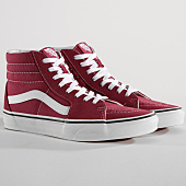 /achat-baskets-montantes/vans-baskets-sk8-hi-a38geu64-dry-rose-true-white-150028.html