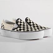 /achat-baskets-basses/vans-baskets-femme-classic-slip-on-18ebww-black-and-white-checkerboard-150029.html