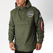 /achat-vestes/alpha-industries-veste-outdoor-avec-poche-bomber-nasa-vert-kaki-150350.html
