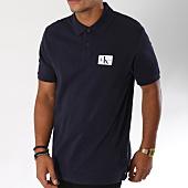 /achat-polos-manches-courtes/calvin-klein-polo-manches-courtes-monogram-logo-9467-bleu-marine-150312.html