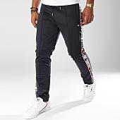 /achat-pantalons-joggings/teddy-smith-pantalon-jogging-avec-bandes-paetan-bleu-marine-150374.html