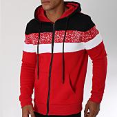 /achat-sweats-zippes-capuche/terance-kole-sweat-zippe-capuche-98162-rouge-blanc-noir-150431.html