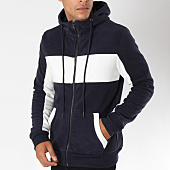 /achat-sweats-zippes-capuche/terance-kole-sweat-zippe-capuche-98167-bleu-marine-blanc-150432.html