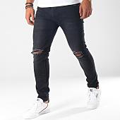 /achat-jeans/aarhon-jean-slim-troue-a97-noir-150886.html