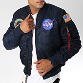 /achat-bombers/alpha-industries-bomber-ma-1-vf-nasa-flight-jacket-bleu-marine-150785.html