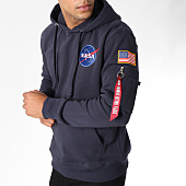/achat-sweats-capuche/alpha-industries-sweat-capuche-avec-poche-bomber-nasa-space-shuttle-bleu-marine-150788.html