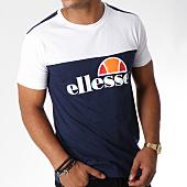 /achat-t-shirts/ellesse-tee-shirt-1031-bicolore-blanc-bleu-marine-150986.html