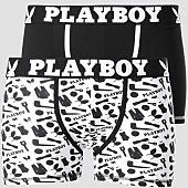 /achat-boxers/playboy-lot-de-2-boxers-classic-cool-noir-blanc-151082.html