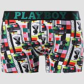 /achat-boxers/playboy-boxer-technicolor-noir-vert-blanc-151089.html