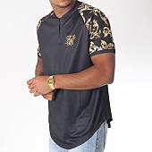 /achat-t-shirts-longs-oversize/siksilk-tee-shirt-oversize-col-zippe-venetian-noir-150985.html