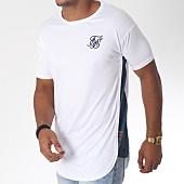 /achat-t-shirts-longs-oversize/siksilk-tee-shirt-oversize-curved-hem-slide-blanc-150989.html