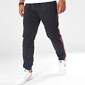 /achat-pantalons-joggings/terance-kole-pantalon-jogging-bandes-brodees-8021-noir-rouge-151071.html