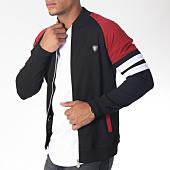 /achat-vestes/classic-series-veste-zippee-8462-noir-bordeaux-151272.html