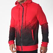 /achat-sweats-zippes-capuche/terance-kole-sweat-zippe-capuche-98155-rouge-noir-151103.html
