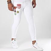 /achat-jeans/grj-denim-jean-slim-avec-patches-13216-blanc-151475.html