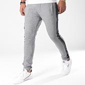 /achat-pantalons-carreaux/classic-series-pantalon-carreaux-avec-bande-p18018-noir-blanc-151538.html