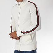 /achat-vestes/ikao-veste-zippee-bandes-brodees-f205-ecru-vert-rouge-151409.html