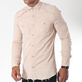 /achat-chemises-manches-longues/ikao-chemise-manches-longues-f188-ecru-151437.html