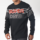 /achat-sweats-col-rond-crewneck/superdry-sweat-crewneck-gym-tech-cut-ms300aar-noir-camouflage-gris-chine-151562.html