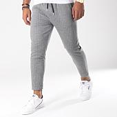 /achat-pantalons-carreaux/aarhon-pantalon-jogging-raye-18-228c-gris-151646.html