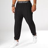 /achat-pantalons-joggings/calvin-klein-pantalon-jogging-nm1563e-noir-blanc-151603.html