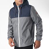 /achat-vestes/element-veste-zippee-capuche-alder-gris-chine-bleu-marine-151640.html