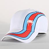 /achat-casquettes-de-baseball/venum-casquette-cutback-blanc-bleu-clair-rouge-151617.html