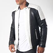 /achat-vestes-biker/terance-kole-veste-biker-79618-noir-blanc-151839.html