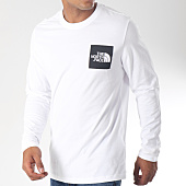 /achat-t-shirts-manches-longues/the-north-face-tee-shirt-manches-longues-fine-blanc-noir-151794.html