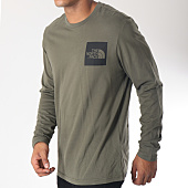/achat-t-shirts-manches-longues/the-north-face-tee-shirt-manches-longues-fine-vert-kaki-noir-151797.html