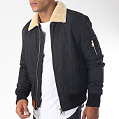 /achat-bombers/bombers-original-bomber-col-mouton-versmold-noir-151972.html