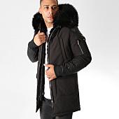 /achat-parkas/hechbone-parka-fourrure-poche-bomber-best-luxe-noir-noir-151988.html
